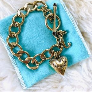Juicy Couture Starter Charm Bracelet Size S/M NEW